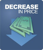 Decrease in price