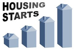 Housing starts up